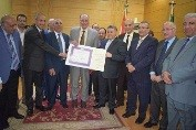 The university's council congratulates Hasb EL-Naby on the winning the state award