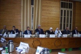 Carrying out the strategic plan of Benha University next December