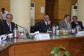 مجلس جامعة بنها يزور مستشفي 57357 الأثنين القادم