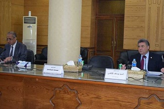 لجنة للإشراف على الإنتخابات الطلابية فى كليات بنها