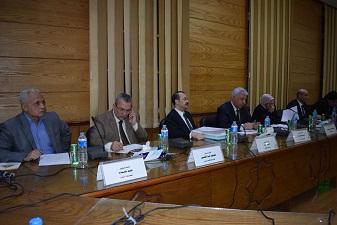 مجلس جامعة بنها يستعرض الخطة البحثية 2017-2022
