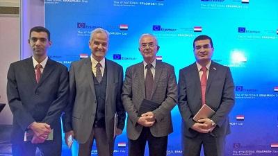 جامعة بنها تشارك  في فعاليات اليوم   الرابع  لبرنامج الإتحاد الأوروبي +Erasmus