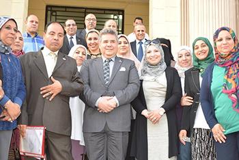 3 فرق عمل لمتابعة خطة جامعة بنها الاستراتيجيه