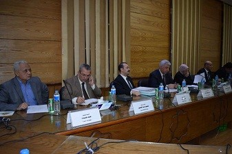 Benha University discusses the research plan 2017-2022
