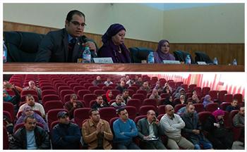 جامعة بنها تؤكد رسالتها في خدمة المجتمع بالقليوبية وتنشيء مواقع إلكترونية  للمدارس الحكومية