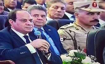 رئيس جامعة بنها بإفتتاح المشروعات العملاقه وكوبرى بنها الحر والطريق الاقليمى