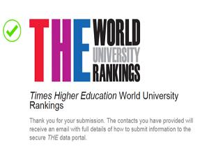 لأول مرة في تاريخها جامعة بنها تستعد للمشاركة في التصنيف العالمي Times Higher Education (THE) 2018