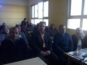 فى مدرسة الشموت الثانوية ببنها: كلية التربية تدعو المواطنين إلى المشاركة الإيجابية فى الإنتخابات