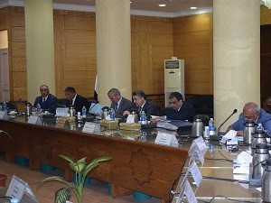 Benha University's council discusses the rates of carrying out the strategic plan