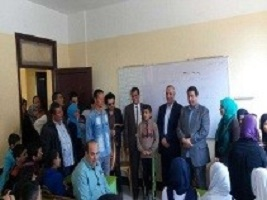 The faculty of specific education in Benha University to be sent to the village of EL-Sheikh Ibrahim