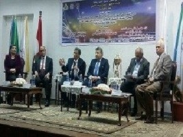 "The youth should defend the state's accomplishments"" says Benha University president in the forum entitled ""the national big projects in the faculty of engineering"