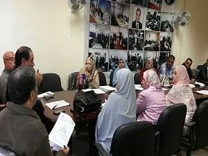 يوليو القادم تقييم الخطة الإستراتيجية لجامعة بنها
