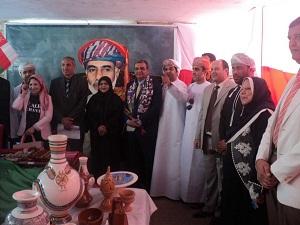 معرض للتراث العماني بجامعة بنها