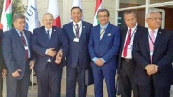 El-kady urges the Arab universities' union to preserve the relationship between the countries