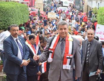 «جامعة بنها»: الشباب أثبت حبه لوطنه خلال الانتخابات الرئاسية