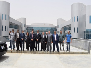 لجنة قطاع طب الأسنان تواصل زيارتها لجامعة بنها في العبور