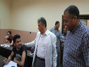 6 ألاف طالب في هندسة شبرا يؤدون الإمتحانات