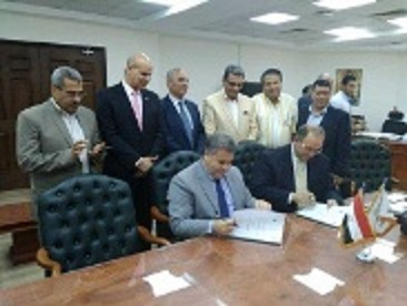 An agreement between the Egyptian countryside and Benha University to establish rice researches center