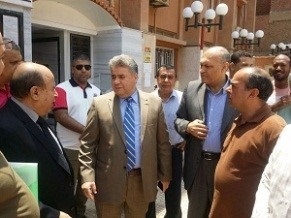 El-Kady inspects the exams of the faculty of science