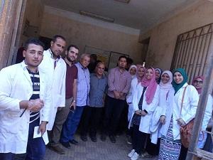 جامعة بنها تنظم قافلة بيطرية لقرية سندبيس مركز القناطر الخيرية بمحافظة القليوبية
