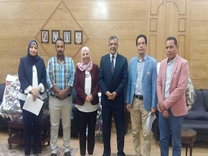 المغربي: مسابقة لأفضل كلية فى جامعة بنها