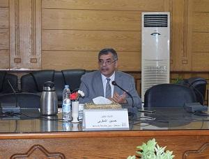 جامعة بنها تنظم إحتفاليه كبري لتكريم القاضي وإسماعيل وأبوالعينين