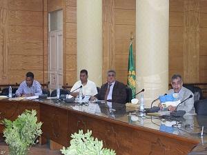 المغربي: تشكيل لجنه لوضع الضوابط العامه لبرامج جامعة بنها الجديده