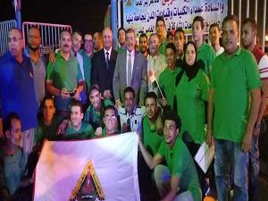 رئيس جامعة بنها يشارك في افتتاح أسبوع شباب المدن الجامعية الخامس