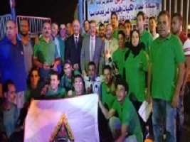 The university president participates in the fifth week of the hostels' youth