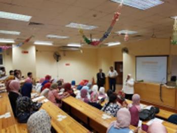 جامعة بنها ندوات تعريفية للطلاب الجدد بالبرامج الجديدة داخل كلية الحاسبات والمعلومات
