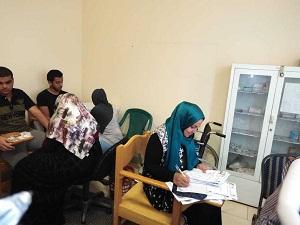 كمرحله أولي: 16 ألف طالب وطالبه يخضعون لتحليل فيروس سي في جامعة بنها