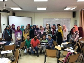 A workshop of enterpreneurship of benha University's students in cooperation with the ministry ofcommunication