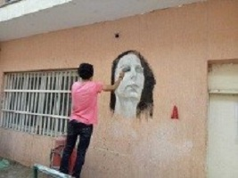 The students of the faculty of specific education beautify their faculty