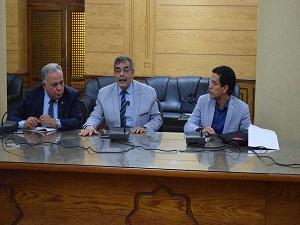 المغربي: رؤية مستقبلية للتعاون مع الجامعات الدولية بجامعة بنها