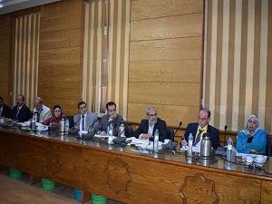 المغربي : علي طلاب جامعة بنها إختيار الجديرين بتمثيلهم في اتحاد الطلاب
