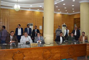أحمد اسلام رئيسا لإتحاد طلاب جامعة بنها