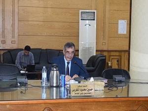 المغربي: يشيد بنجاح انتخابات اتحاد الطلاب في جامعة بنها