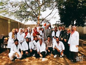 جامعة بنها تطلق قافلة بيطرية بقرية الشموت