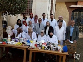 Benha University sends convoys to support the needy villages in Qulubia governorate