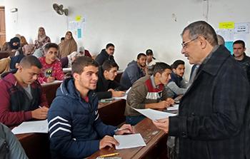 رئيس جامعة بنها: نسعي جاهدين لتطوير منظومة الامتحانات والتي تعد مؤشراً رئيسياً لتطور العملية التعليمية
