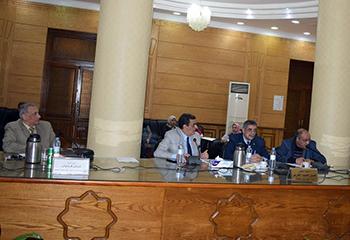 المغربي يترأس مجلس العمداء والاجتماع التحضيري للمؤتمر الدولى الذي تنظمه جامعة بنها عن تطوير التعليم