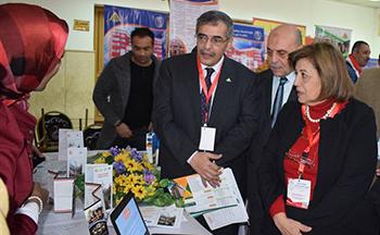 علي هامش افتتاح المؤتمر الدولي لتطوير التعليم العالي بجامعة بنها: افتتاح معرضاً لـ 28 برنامجاً جديداً بالجامعة