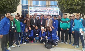رئيس جامعة بنها يشارك في افتتاح أسبوع شباب الجامعات بكفر الشيخ