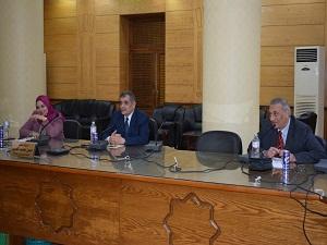 الاستعداد لتنفيذ مبادرة «صنايعية مصر» في جامعة بنها