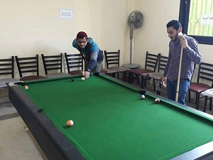 750 طالب وطالبة شاركوا في اليوم الرياضي بجامعة بنها
