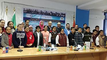 إنطلاق فعاليات الدورة الرابعة لأنشطة جامعة الطفل ببنها