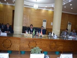 عبدالحليم والمغربي يستعرضا إنجازات محافظة القليوبية والجامعة خلال شهر فبراير في مجلس جامعة بنها