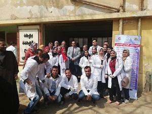 جامعة بنها تنظم قافلة بيطرية لقرية شبلنجة بمحافظة القليوبية