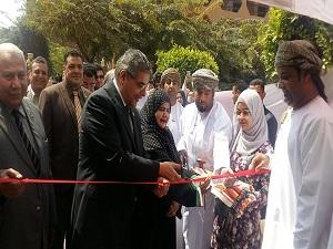 المغربى يفتتح فعاليات معرض التراث العمانى الثانى بجامعة بنها