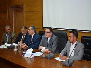 رئيس جامعة بنها : تحسين وسائل الإقامة والإعاشة للطلاب بالمدن الجامعية